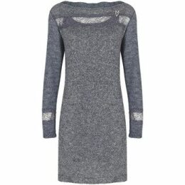 Mado Et Les Autres  Long sleeves sweater dress  women's Dress in Grey
