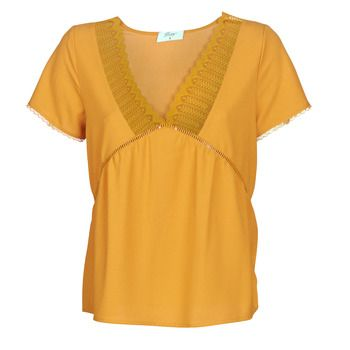 Betty London  JOCKY  women's Blouse in Yellow