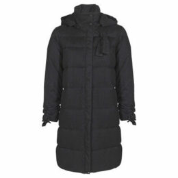 Mado Et Les Autres  Quilted long down jacket  women's Jacket in Black