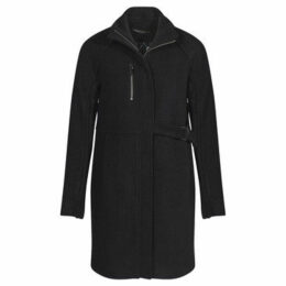 Mado Et Les Autres  3/4 high collar coat  women's Coat in Black