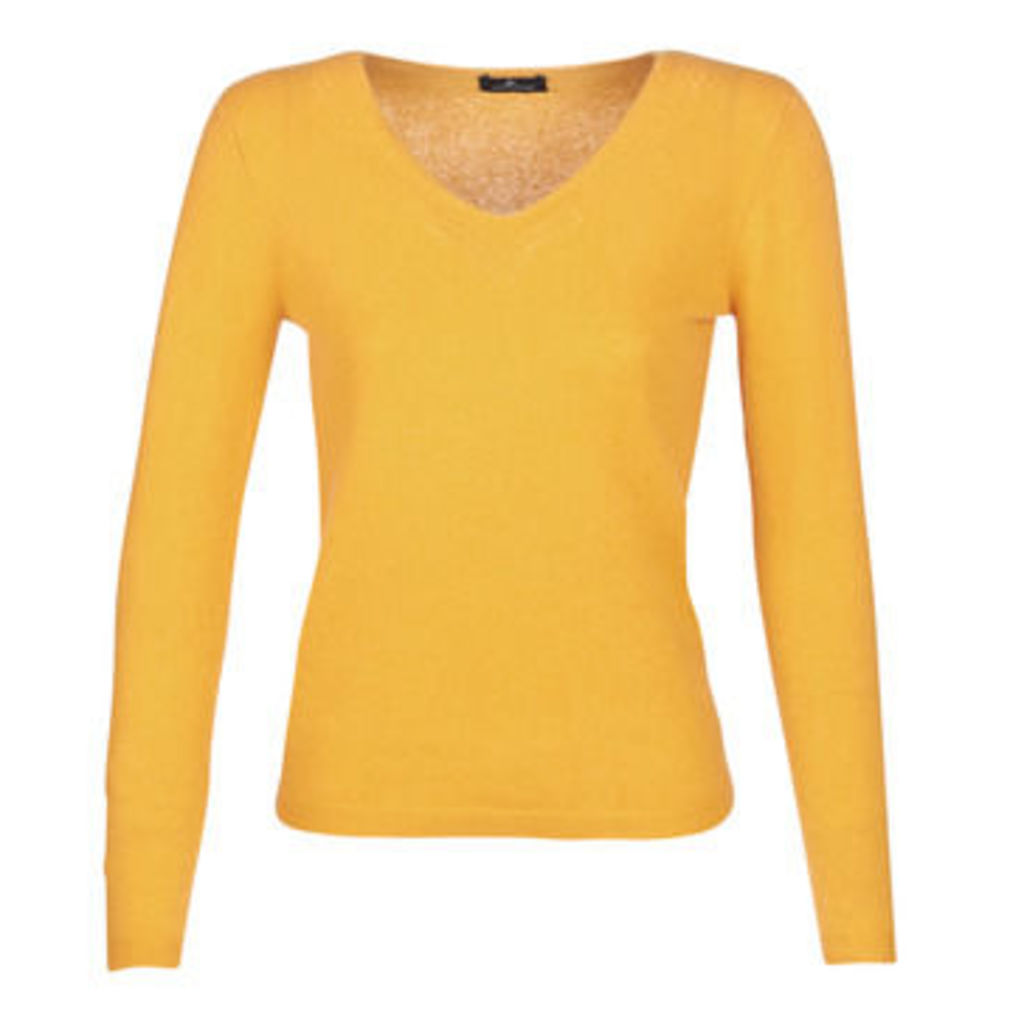 One Step  TURENNE  women's Sweater in Yellow