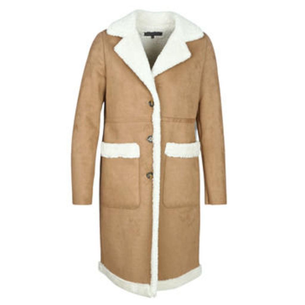 Oakwood  PORTOBELLO  women's Coat in Brown