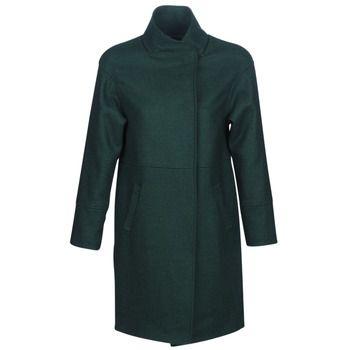 One Step  DENTZ  women's Coat in Green