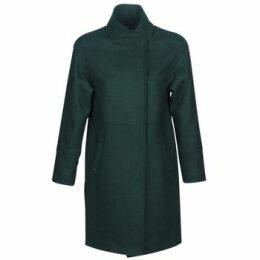 One Step  DENTZ  women's Coat in Green