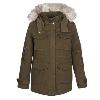 Ikks  BLEEZ  women's Parka in Green