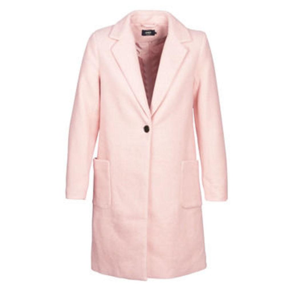 Only  ONLASTRID  women's Coat in Pink