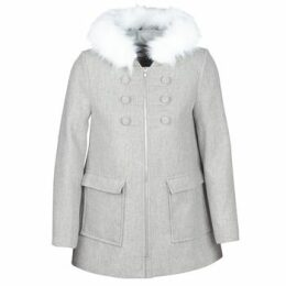 Naf Naf  AZALI  women's Coat in Grey