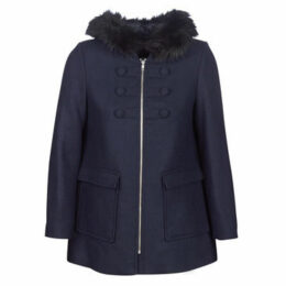 Naf Naf  AZALI  women's Coat in Blue