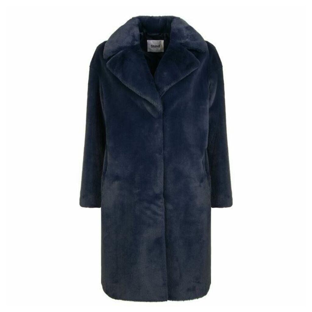 STAND Camille Coocon Faux Fur Coat
