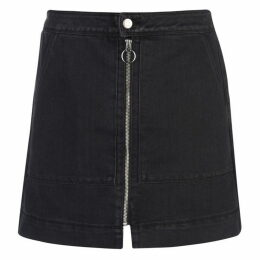JDY Femi Zip Denim Skirt