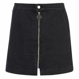 JDY Femi Zip Denim Skirt