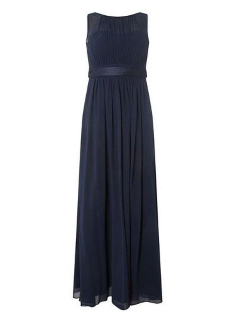 Womens **Showcase Petite Navy 'Natalie' Maxi Dress- Navy, Navy