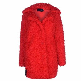 Story of Lola Faux Shearling Coat