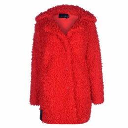 Story of Lola Faux Shearling Coat