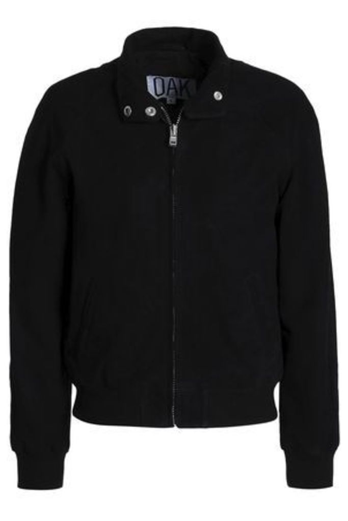 Oak Woman Render Suede Jacket Black Size M