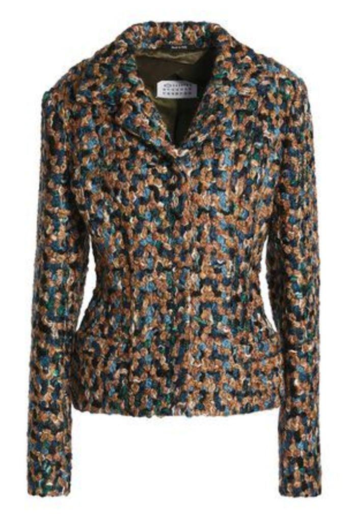 Maison Margiela Woman Wool-bouclé Jacket Multicolor Size 40