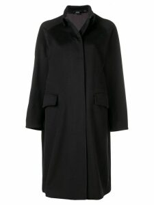 Aspesi raglan sleeve coat - Black