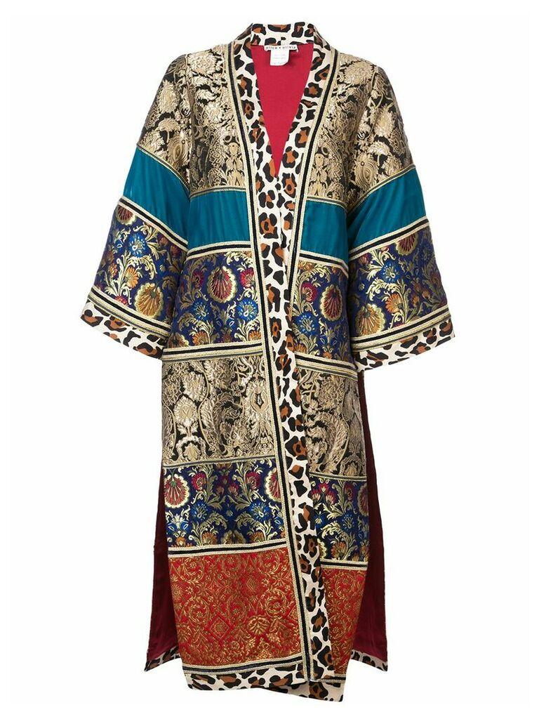 Alice+Olivia Lynn coat - Multicolour