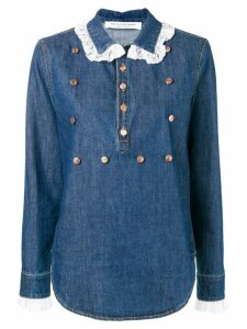 Philosophy Di Lorenzo Serafini loose fitted shirt - Blue