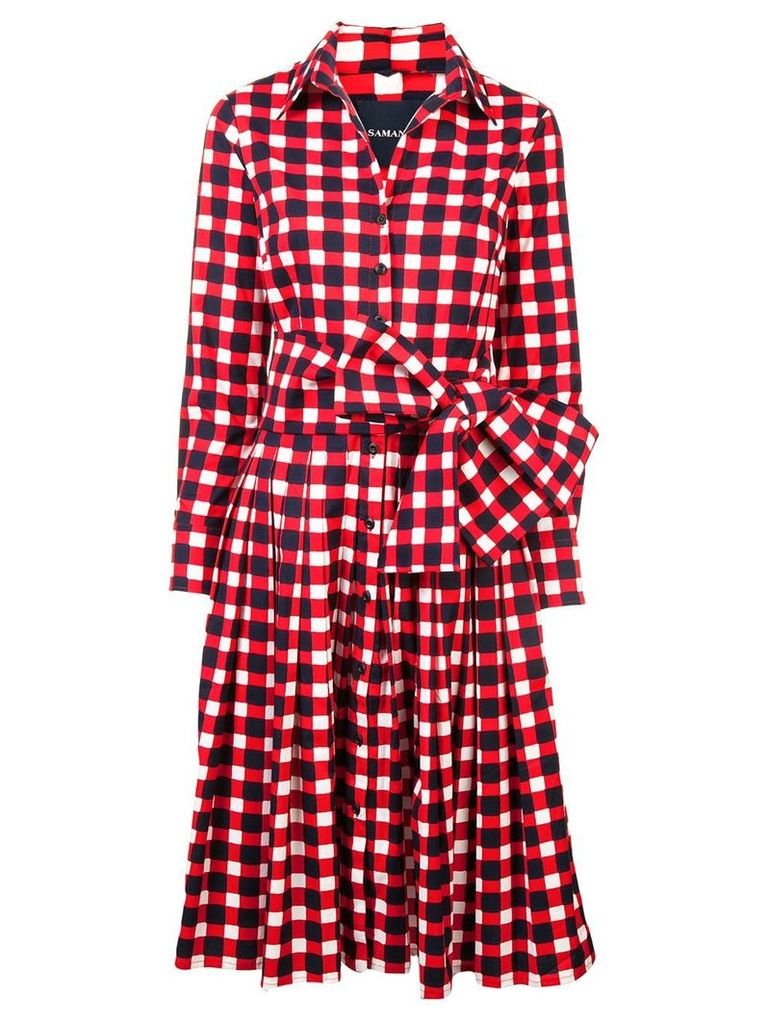 Samantha Sung Audrey dress - Red