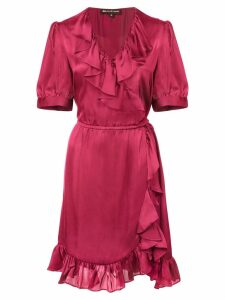Jill Jill Stuart ruffle short-sleeve dress - Red