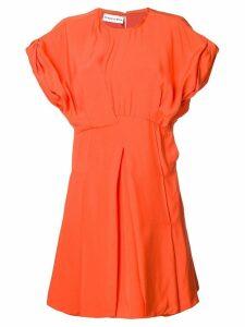 Carven short flared dress - Orange