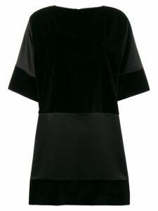Gianluca Capannolo contrast panel dress - Black