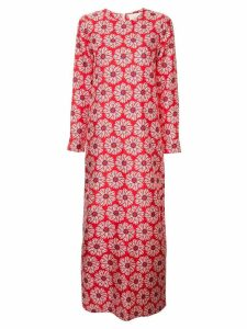 La Doublej flower print maxi dress - Red