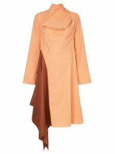 Palmer / Harding asymmetrical dress - Orange