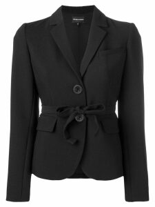 Emporio Armani fitted blazer - Black