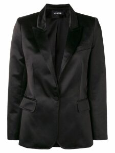 Styland satin formal blazer - Black