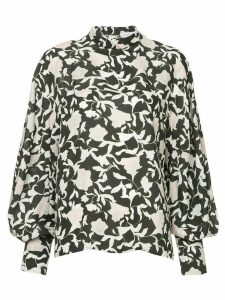 Christian Wijnants printed bell sleeve blouse - Multicolour