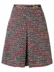 Gucci high-waisted A-line skirt - Black