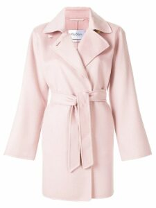 Max Mara belted waist trench coat - Pink