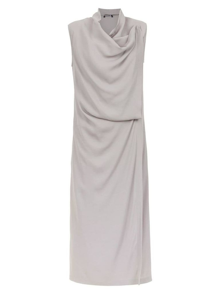 Uma Raquel Davidowicz Rafia dress - Grey