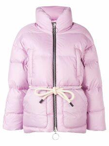 Ienki Ienki Mishko tie-waist puffer jacket - Pink
