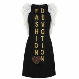 Dolce and Gabbana Cady Fashion Devotion Dress