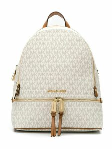 Michael Michael Kors EZ MD BACK PACK - White
