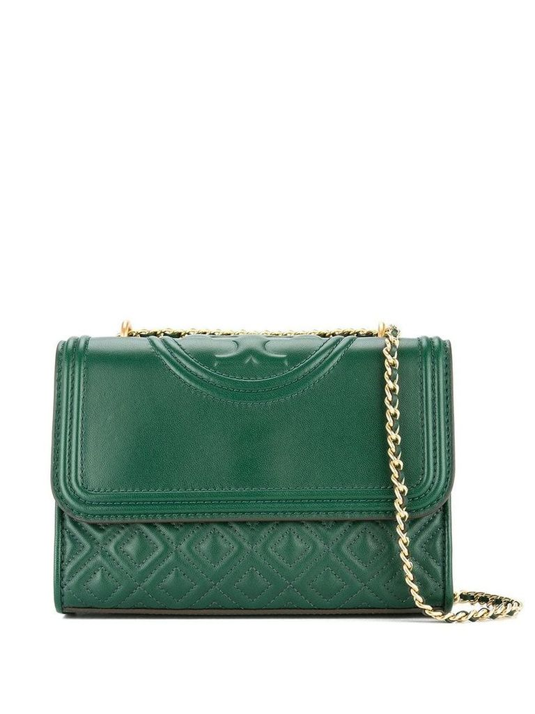 Tory Burch Fleming small convertible shoulder bag - Green