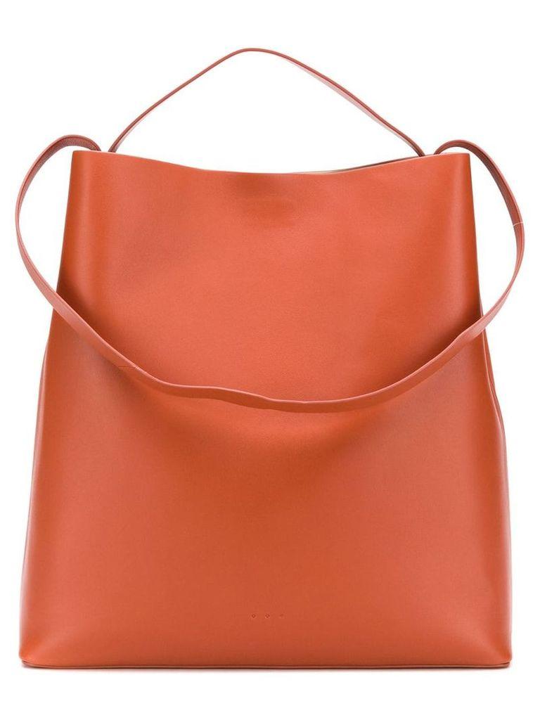 Aesther Ekme Sac rectangular tote bag - Brown