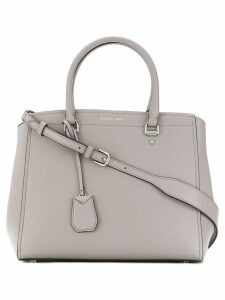 Michael Michael Kors large Benning satchel bag - Grey