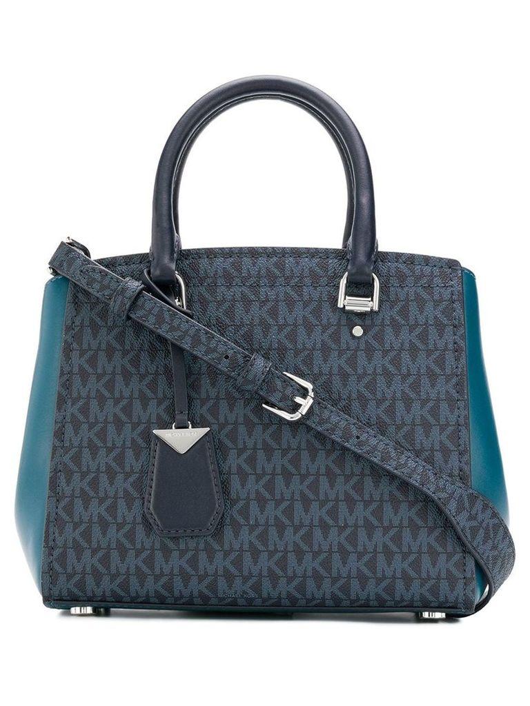 Michael Michael Kors Benning satchel bag - Blue