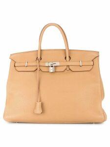 Hermès Pre-Owned Birkin 40 hand bag Taurillon Clemence - Brown