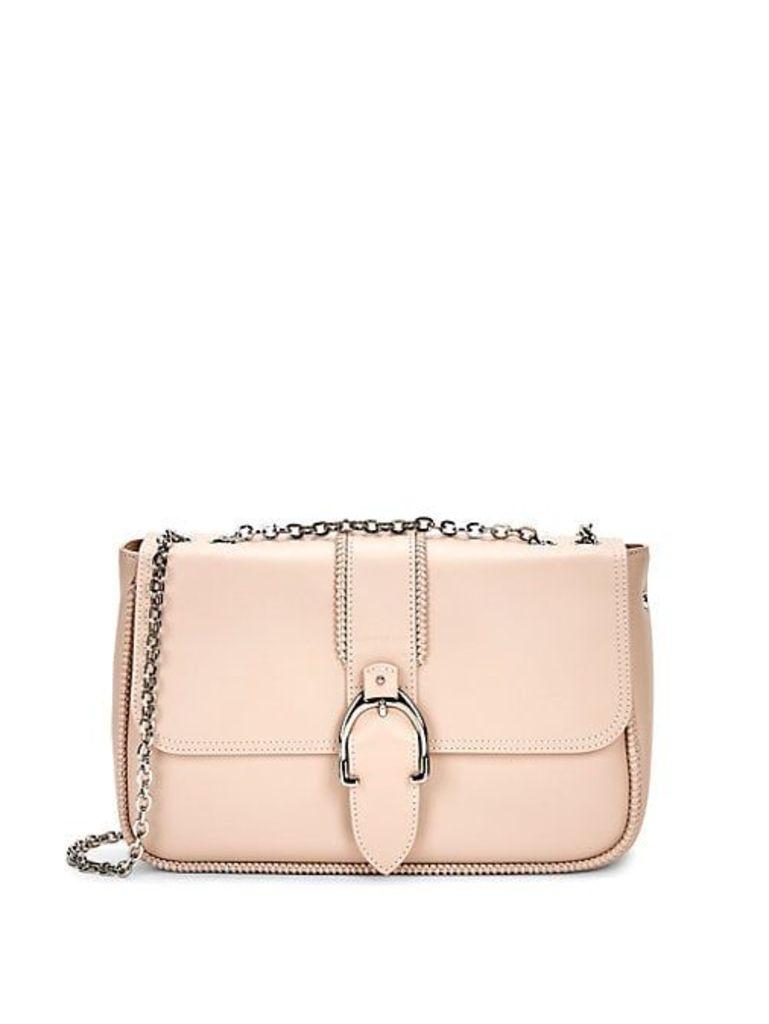 Amazone Boxed Leather Crossbody Bag