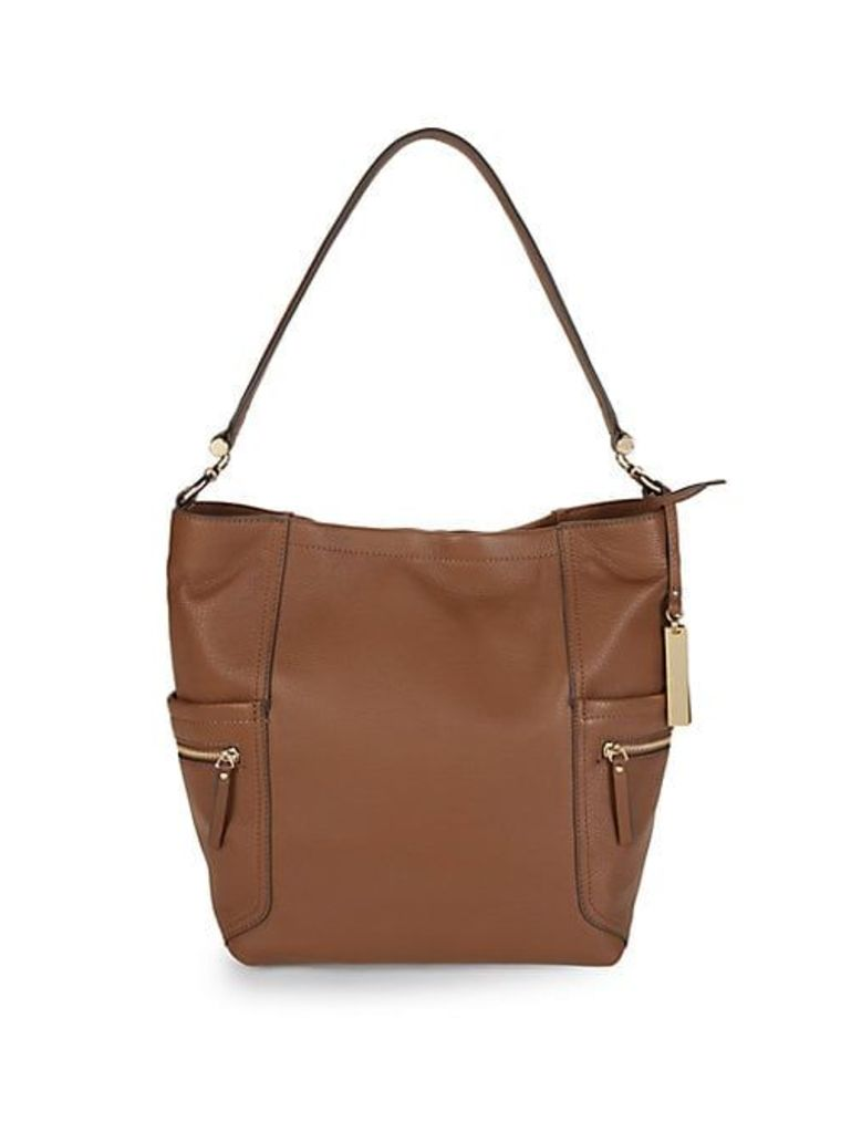 Utilitarian Leather Tote Bag
