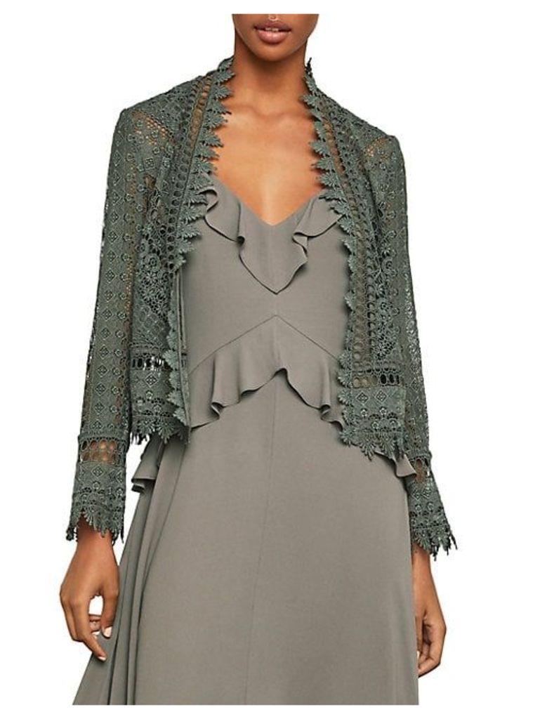 Sahara Desert Crop Lace Jacket