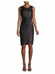 Side-Twist Sheath Dress