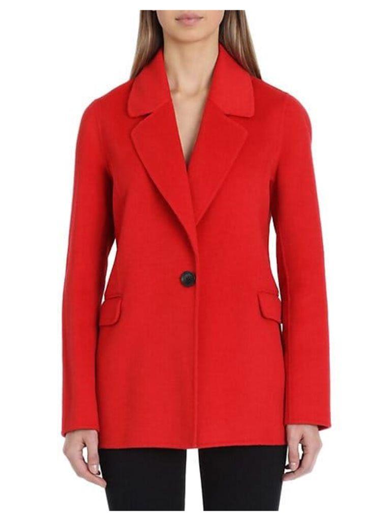Double-Faced Wool-Blend Blazer