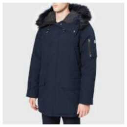 KENZO Men's Winter Parka - Navy Blue