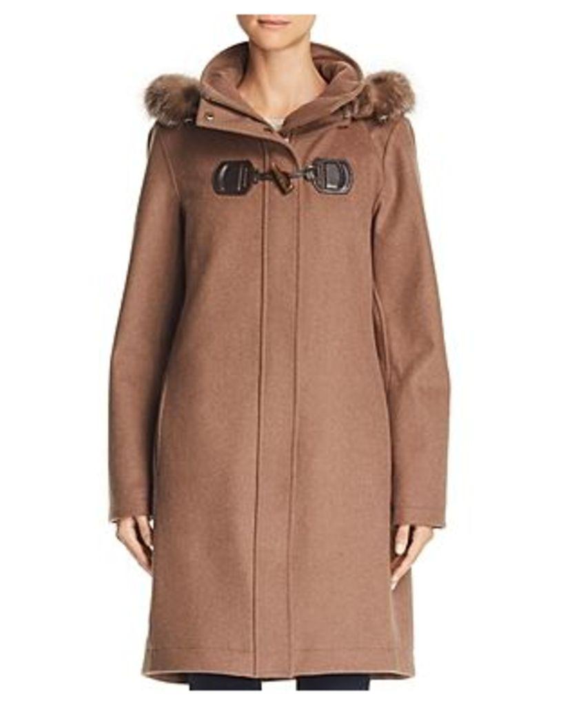 Pendleton St. Marie Hooded Fur Trim Parka